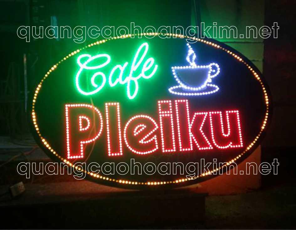 bien led vay cafe dep 4 - BIỂN LED VẪY THU HÚT MẮT KHÁCH HÀNG ĐI ĐƯỜNG CỰC MẠNH