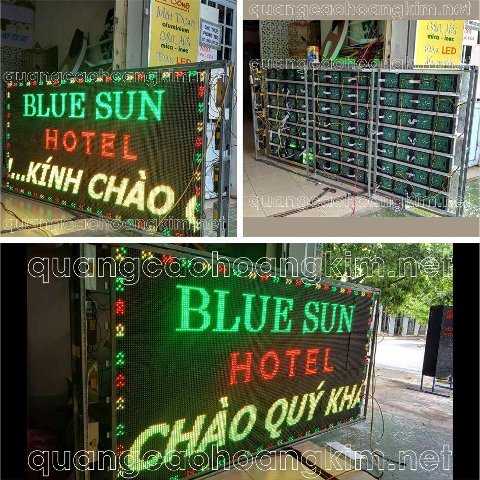 led ma tran 3 mau bien khach san hotel 1 - LED MA TRẬN 3 MÀU SÁNG LUNG LINH VÀ VÔ CÙNG ẤN TƯỢNG