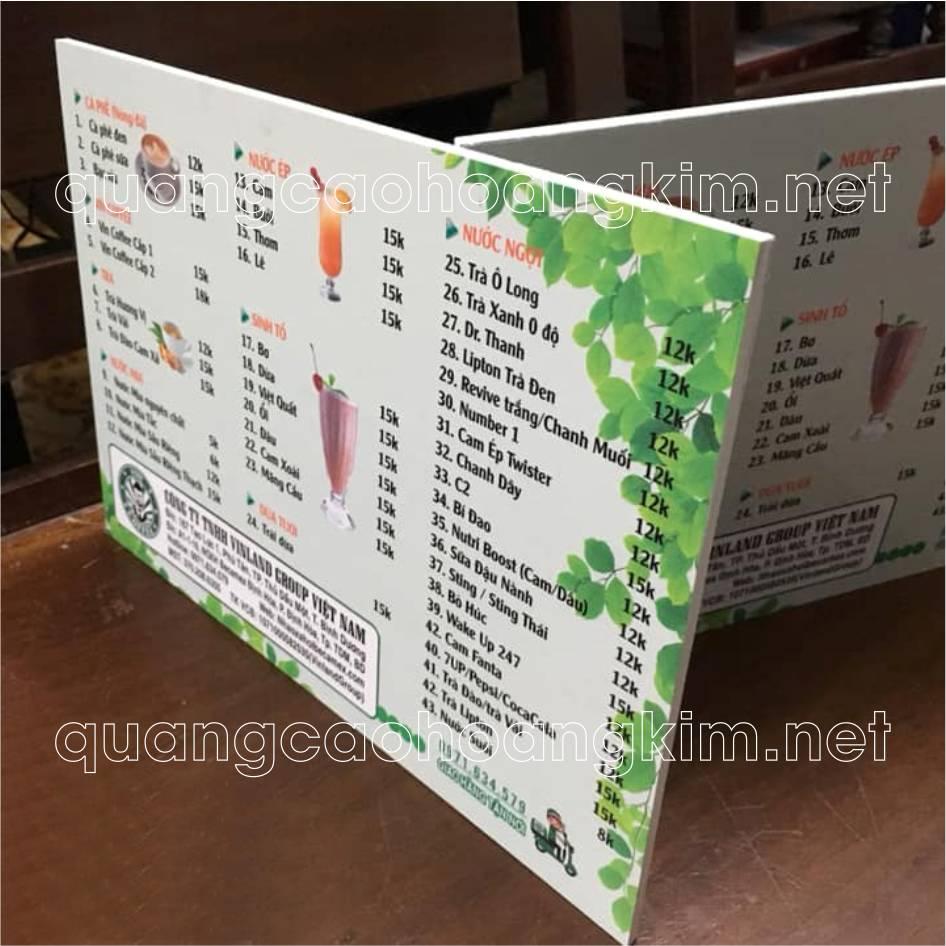 menu boi formex 3 - MENU BỒI FORMEX TIỆN LỢI, CHỐNG THẤM NƯỚC, IN CỰC ĐẸP
