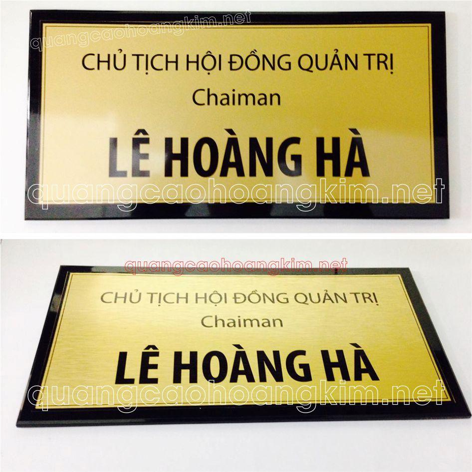 bien phong giam doc chu tich mat inox de mica 3 - BIỂN PHÒNG GIÁM ĐỐC, CHỦ TỊCH NHIỀU MẪU ĐẸP, SANG TRỌNG