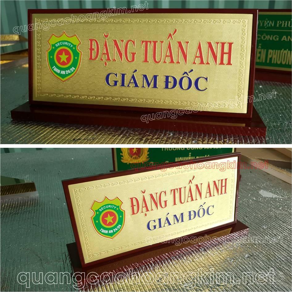 bang chuc danh de ban mat dong go de 1 cap 1 - BIỂN CHỨC DANH, BẢNG TÊN ĐỂ BÀN CỰC BỀN ĐẸP, SANG TRỌNG