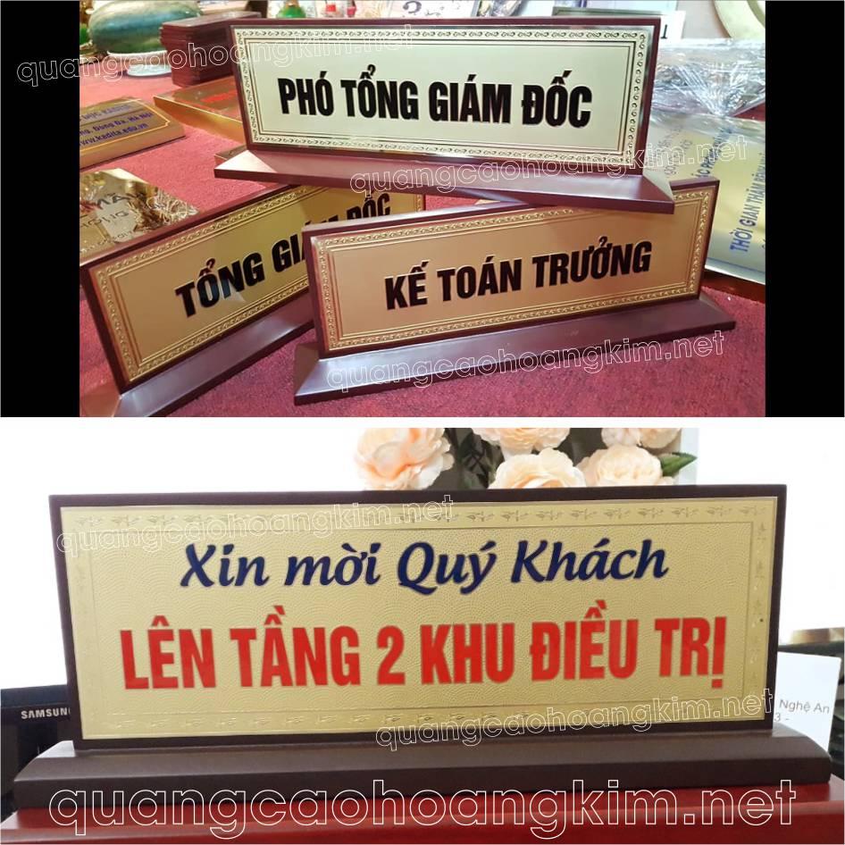 lam bang ten de ban dong go de chu nhat vat 4 canh 4 - BIỂN CHỨC DANH, BẢNG TÊN ĐỂ BÀN CỰC BỀN ĐẸP, SANG TRỌNG